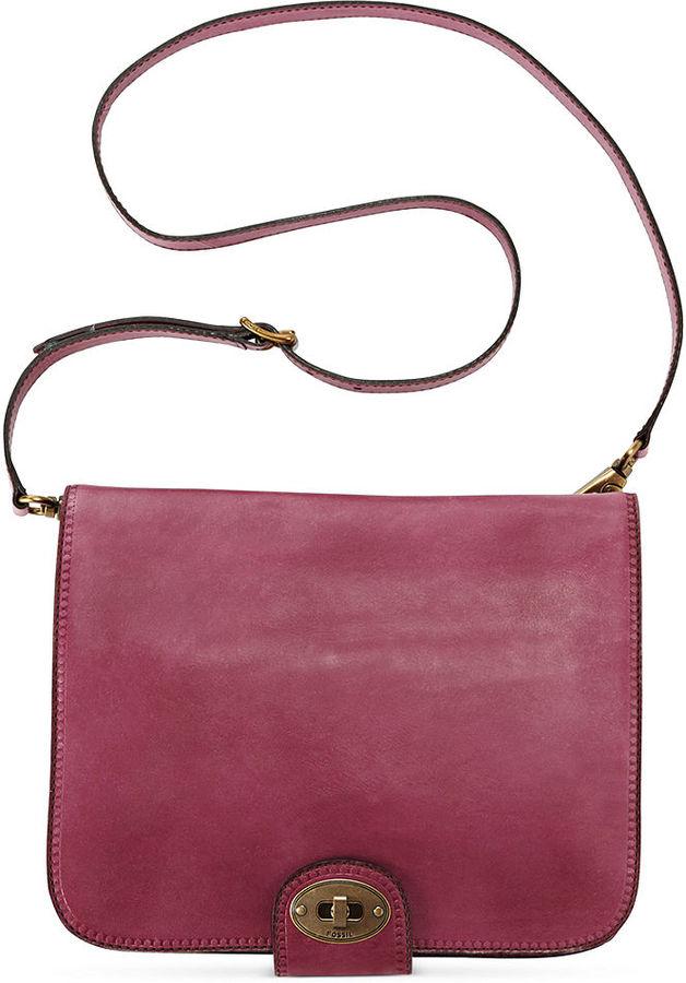 Fossil Handbag, Vintage Revival Flap Portfolio Crossbody