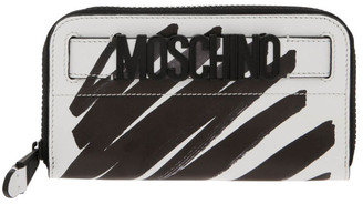Moschino Highlighter Zip Around Wallet