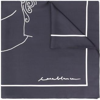Casablanca Sid slik scarf