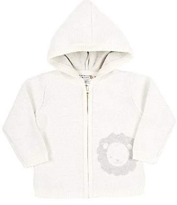 Barneys New York Infants' Lion Hooded Cardigan - Cream