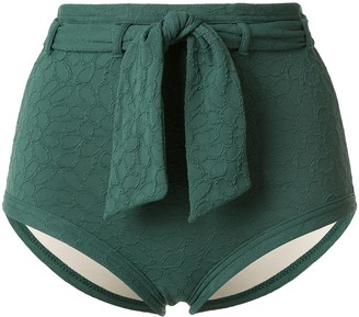 Peony Swimwear Sash Belt Bikini Bottoms