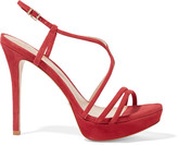 Schutz Gabby suede platform sandals