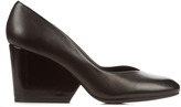 Robert Clergerie Tessy wedge-heel leather pumps