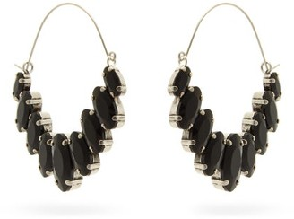 Isabel Marant Crystal Drop Earrings - Black