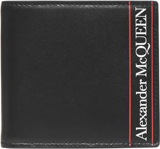 Alexander McQueen Logo Leather Bifold Wallet