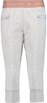 adidas by Stella McCartney Essentials 3/4 cotton-blend track pants