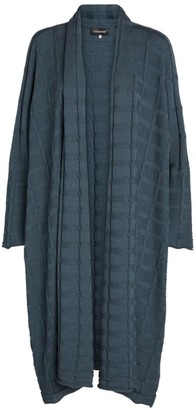 eskandar Cashmere Argyle-Knit Cardigan