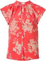 Rebecca Taylor floral print top - women - Silk - 0