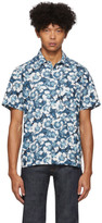 A.P.C. Blue Floral Joseph Shirt