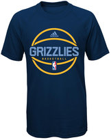 adidas Boys' Memphis Grizzlies Practice Wear Ultimate T-Shirt