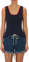 Chloé WOMEN'S SILK-BLEND RIB-KNIT TANK
