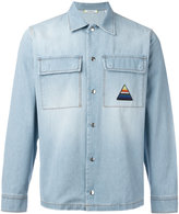 Iceberg palm tree denim shirt - men - Cotton - M