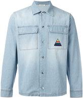 Iceberg palm tree denim shirt