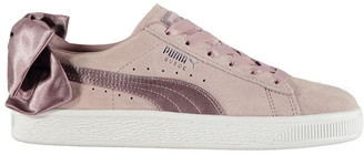 Puma Bow Suede Trainers