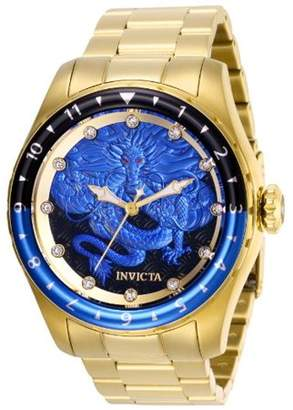 Invicta Men's 28355 Speedway Automatic 3 Hand Blue, Black Dial Watch