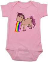 Vulgar Baby Bodysuit, Unicorn Vomit