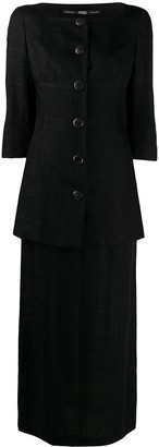 Gianfranco Ferré Pre Owned 1990s Blazer And Skirt Set