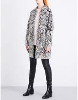 MICHAEL Michael Kors Michael Kors Ladies Chocolate Luxury Leopard Wool-Blend Jacket