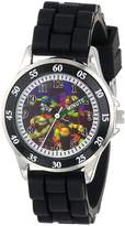 Nickelodeon Teenage Mutant Ninja Turtles Kids' TMN9013 Analog Display Analog Quartz Black Watch