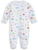 Kissy Kissy Infant Boys' Whale Print Footie - Sizes 0-9 Months