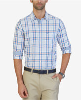 Nautica Men's Classic-Fit Delft Plaid Shirt
