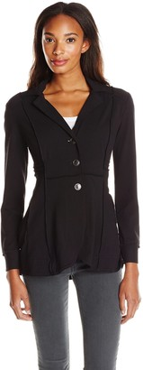 Nic+Zoe Women's Seamed Riding Jacket