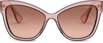 Miu Miu La Mondaine cat-eye sunglasses