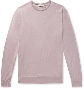 John Smedley Hatfield Slim-Fit Sea Island Cotton Sweater