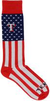 For Bare Feet Texas Rangers Flag Top Socks