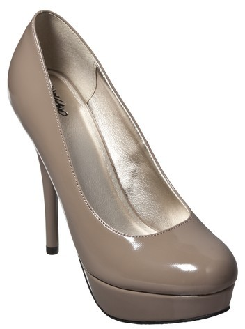 Mossimo Women's Paisley Pump - Taupe