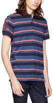 Blend of America Men's Short Sleeve Polo Shirt