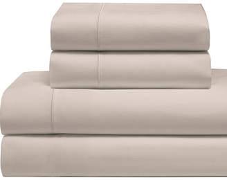 Cool Comfort Cotton Solid Split King Sheet Set Bedding