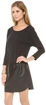 Velvet Verni Combo Drawstring Dress