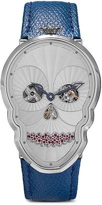 Fiona Kruger Petit Skull diamond seel watch
