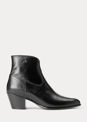 Ralph Lauren Lucille Leather Boot