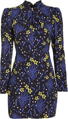 Self-Portrait Self Portrait Wildflower Jersey Crepe Dress
