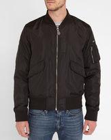 Schott NYC Black Army Bomber Jacket