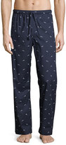Derek Rose Nelson 61 Animal-Print Pajama Pants