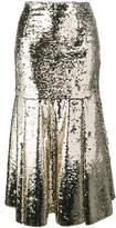 Emilia Wickstead Le-Roy sequinned midi-skirt
