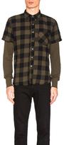 NSF Levi Shirt in Green,Checkered & Plaid.