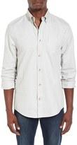 Ben Sherman Men's Mod Fit Fleck Herringbone Shirt