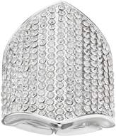JLO by Jennifer Lopez Pave Shield Stretch Ring