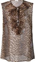 P.A.R.O.S.H. 'Popard' sleeveless blouse