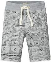 Scotch & Soda Printed Sweat Shorts