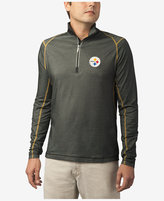 Tommy Bahama Men's Pittsburgh Steelers Double Eagle Half-Zip Sweater