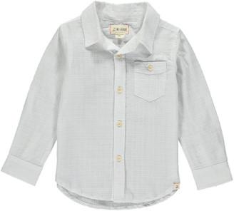 Me & Henry Boy's Long-Sleeve Woven Shirt w/ Children's Book, Size 3T-10