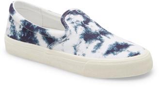 Madewell Sidewalk Tie Dye Recycled Canvas Slip-On Sneaker