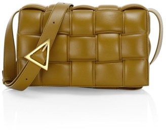 Bottega Veneta Small Cassette Padded Leather Crossbody Bag