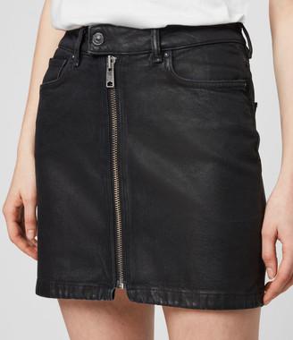AllSaints Sammy Denim Skirt
