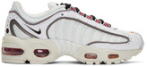 Nike White and Black Air Max Tailwind IV Sneakers